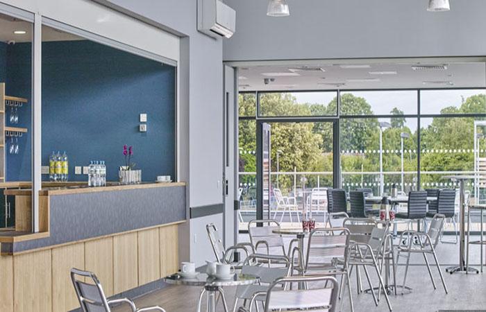 Bar area at Arbour Park